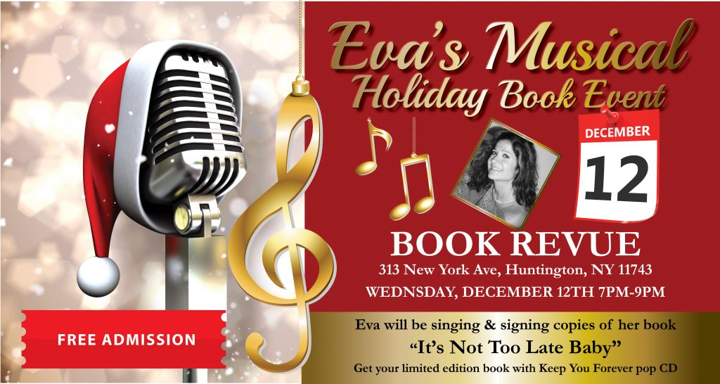 Book Revue Holiday Event